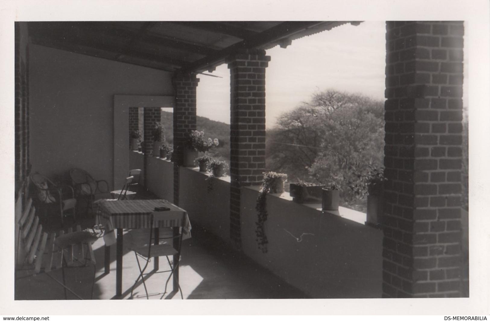 Namibia Waterberg Hotel Real Photo Postcard - Namibie