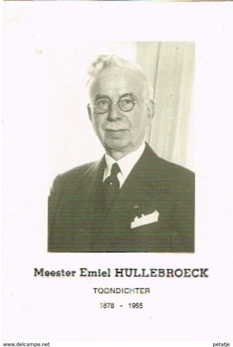 Meester Emiel Hullebroeck - Images Religieuses