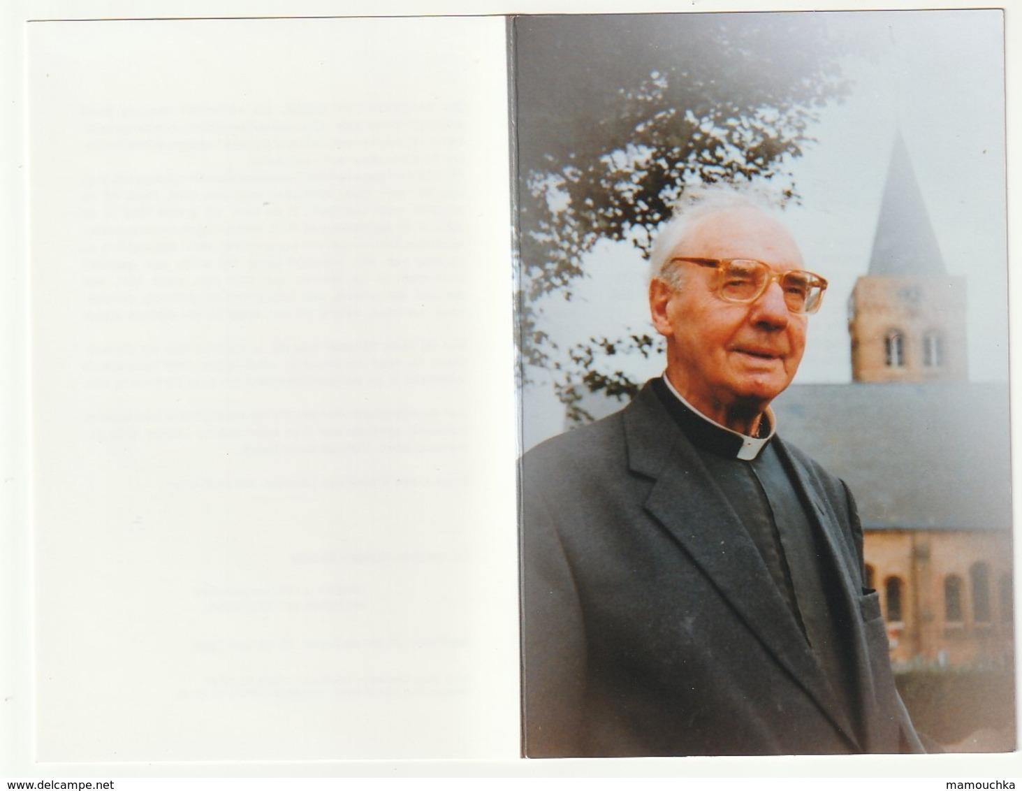 Doodsprentje Camiel FORREZ Westrozebeke 1905 Priester Menen Mariakerke Vlissegem Houthulst 1996 - Images Religieuses