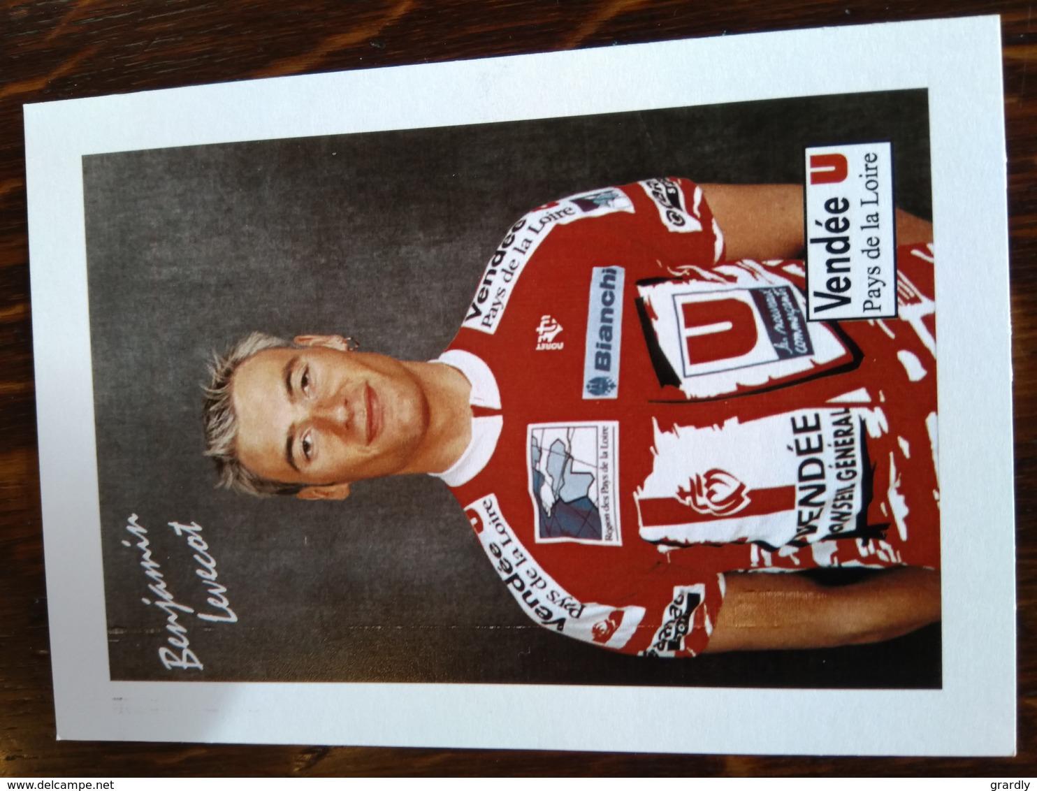 CYCLISME LEVECOT Benjamin VENDEE U 1999 - Cyclisme