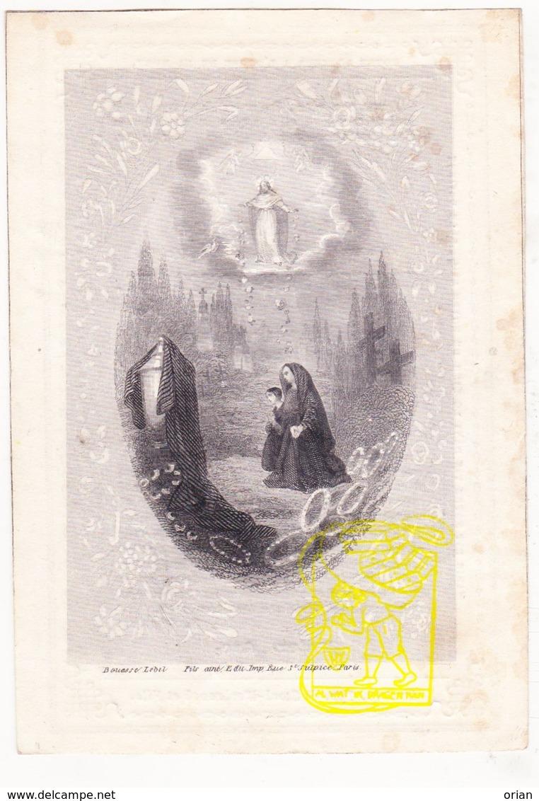 DP Student Kl. Seminarie Roeselare - Jules Joseph Nys ° Paris 1843 † Mouscron Moeskroen 1856 - Images Religieuses