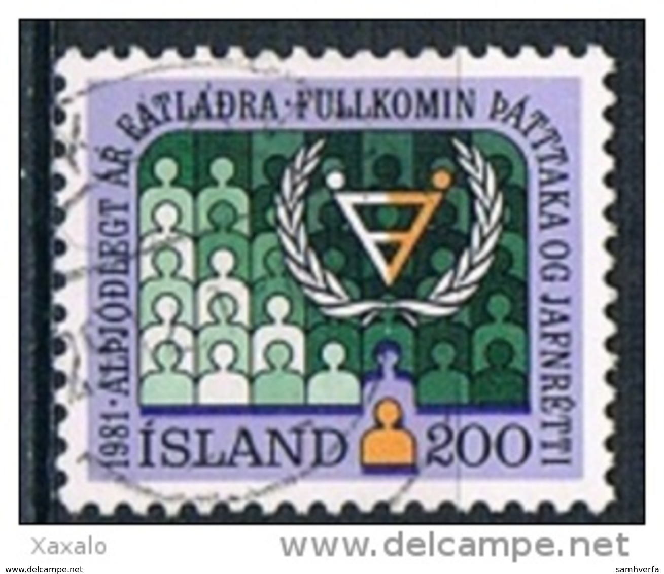Iceland 1981 - Disabled Persons - 1944-... Republik