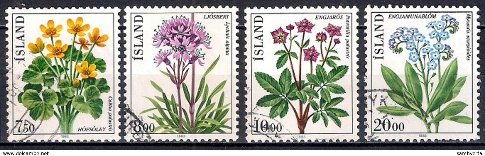 Iceland 1983 - Flowers - 1944-... Republik