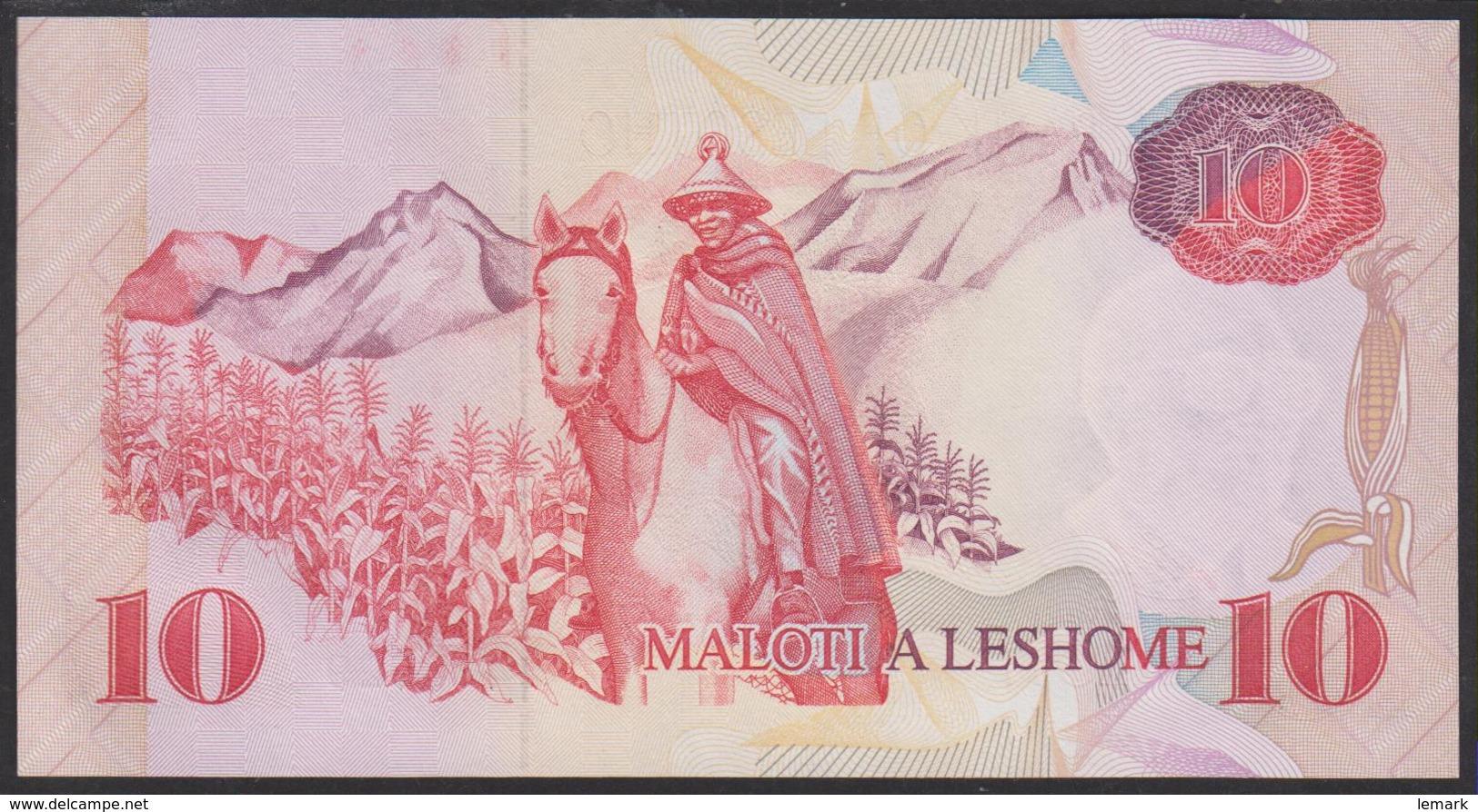 Lesotho 10 Maloti 1990 P11 UNC - Lesotho