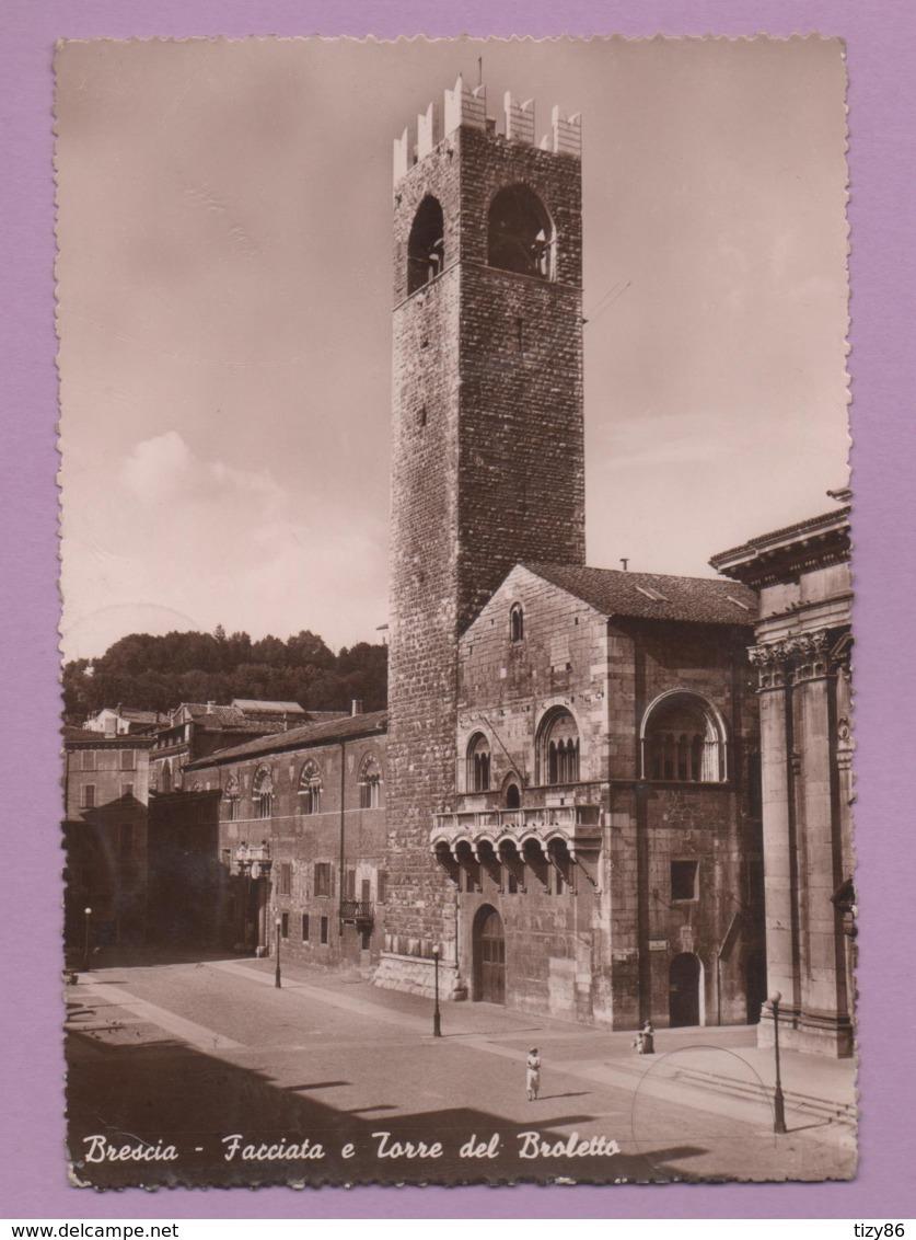 Brescia - Facciata E Torre Del Broletto - Brescia
