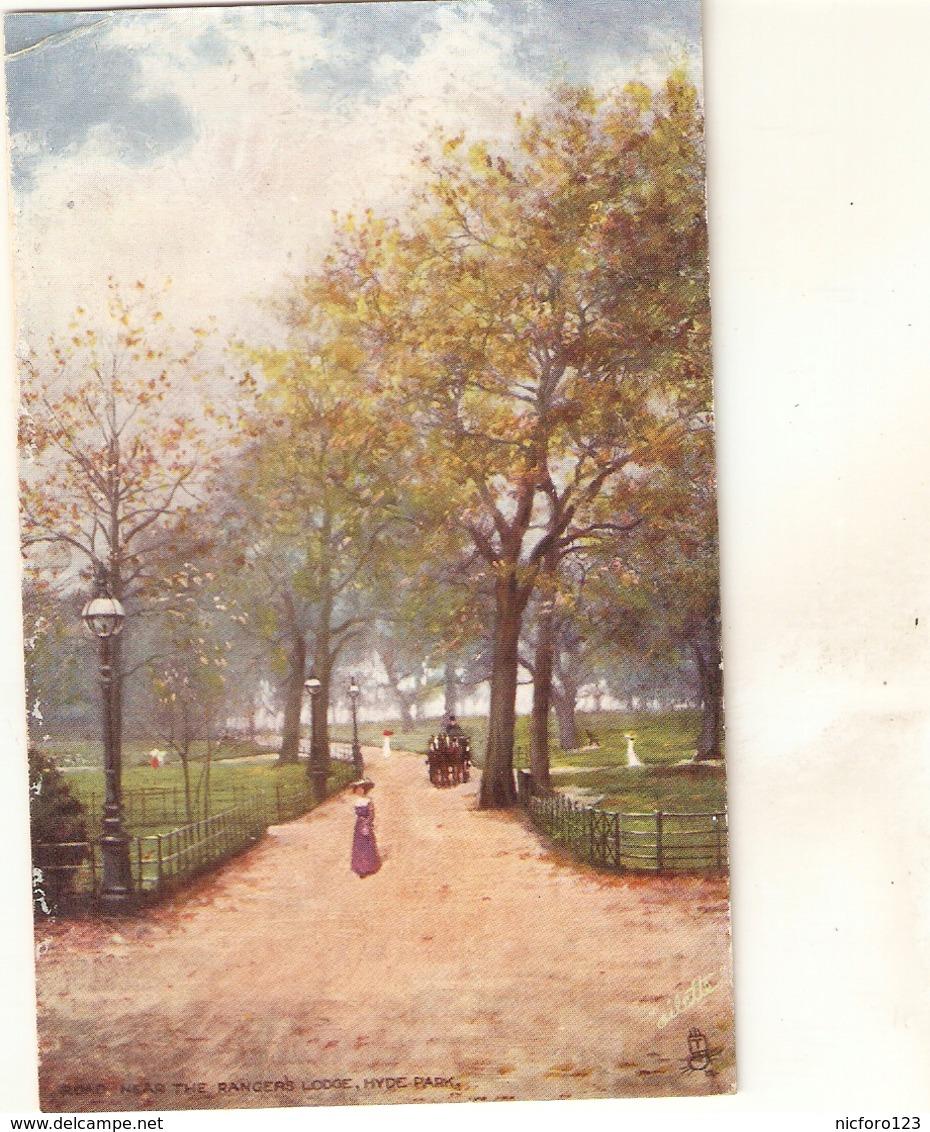 """""""Near The Ranger's Lodge. Hyde Park. Londo"""" Tuck Oilette Postard # 7180 - Tuck, Raphael"""