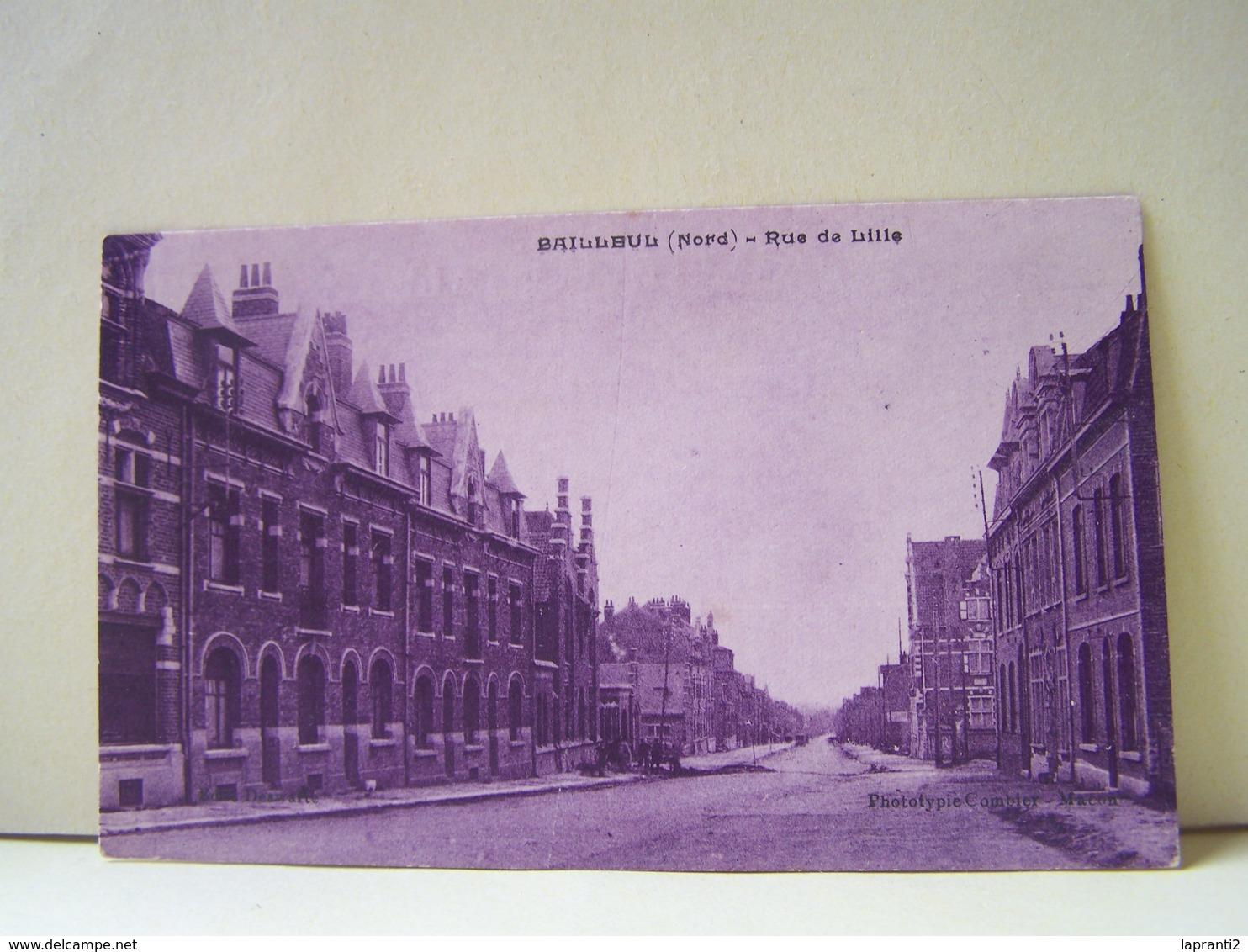 BAILLEUL (NORD) RUE DE LILLE. - Francia