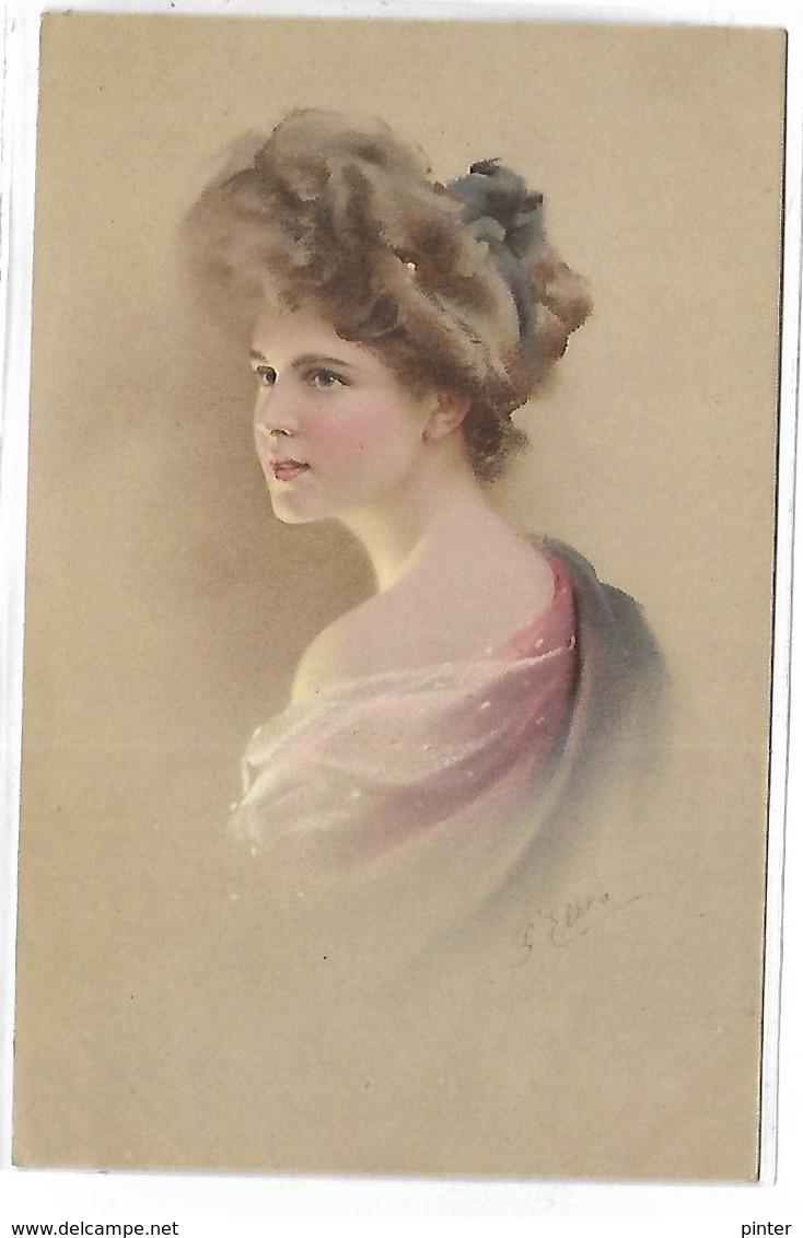 Portrait De FEMME - Illustrateur MM VIENNE - 443 - Vienne