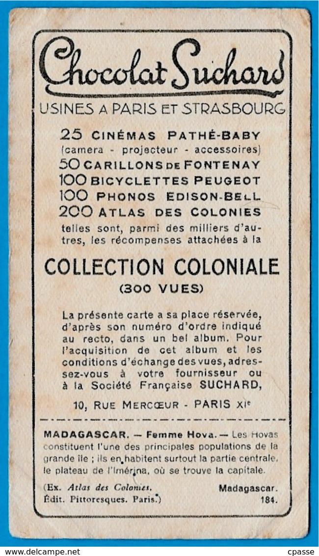 "IMAGE - MADAGASCAR - Femme HOVA °  Chocolat Suchard ""Collection Coloniale"" * - Suchard"