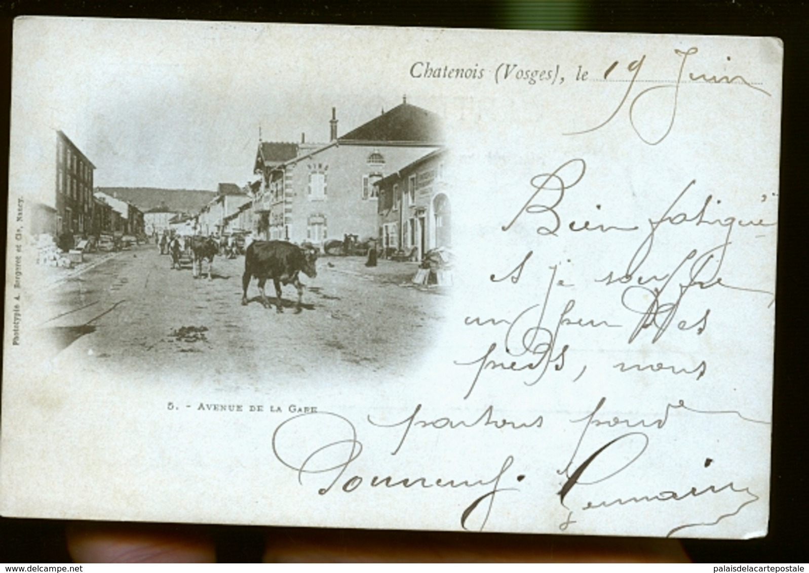 CHATENOY 1900                  JLM - Chatenois