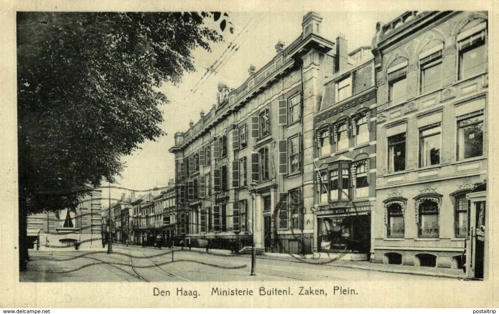 DEN HAAG MINISTERIE BUITENL. ZAKEN PLEIN - Den Haag ('s-Gravenhage)