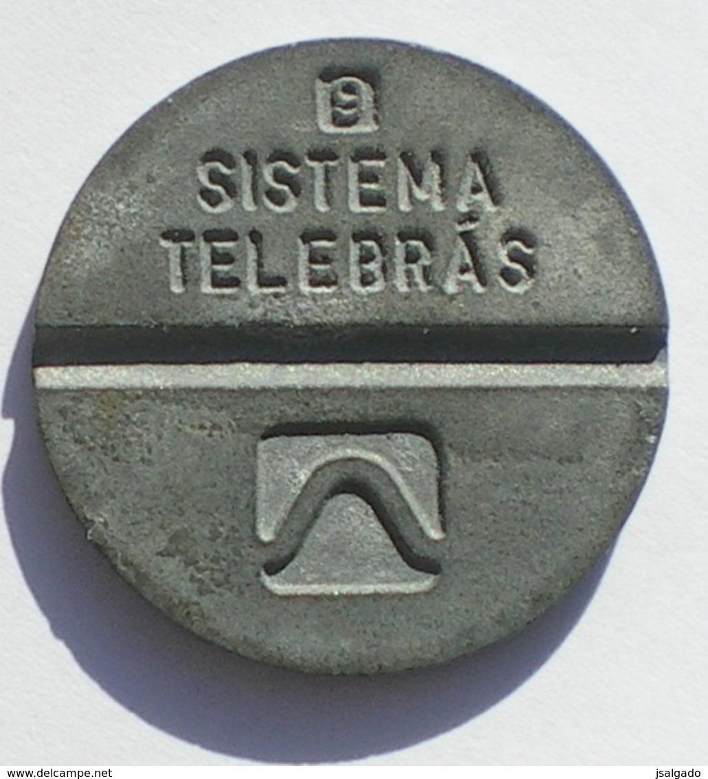 Brasil Telephone Token  1983 LOCAL Artol  Logo 9 - Noodgeld