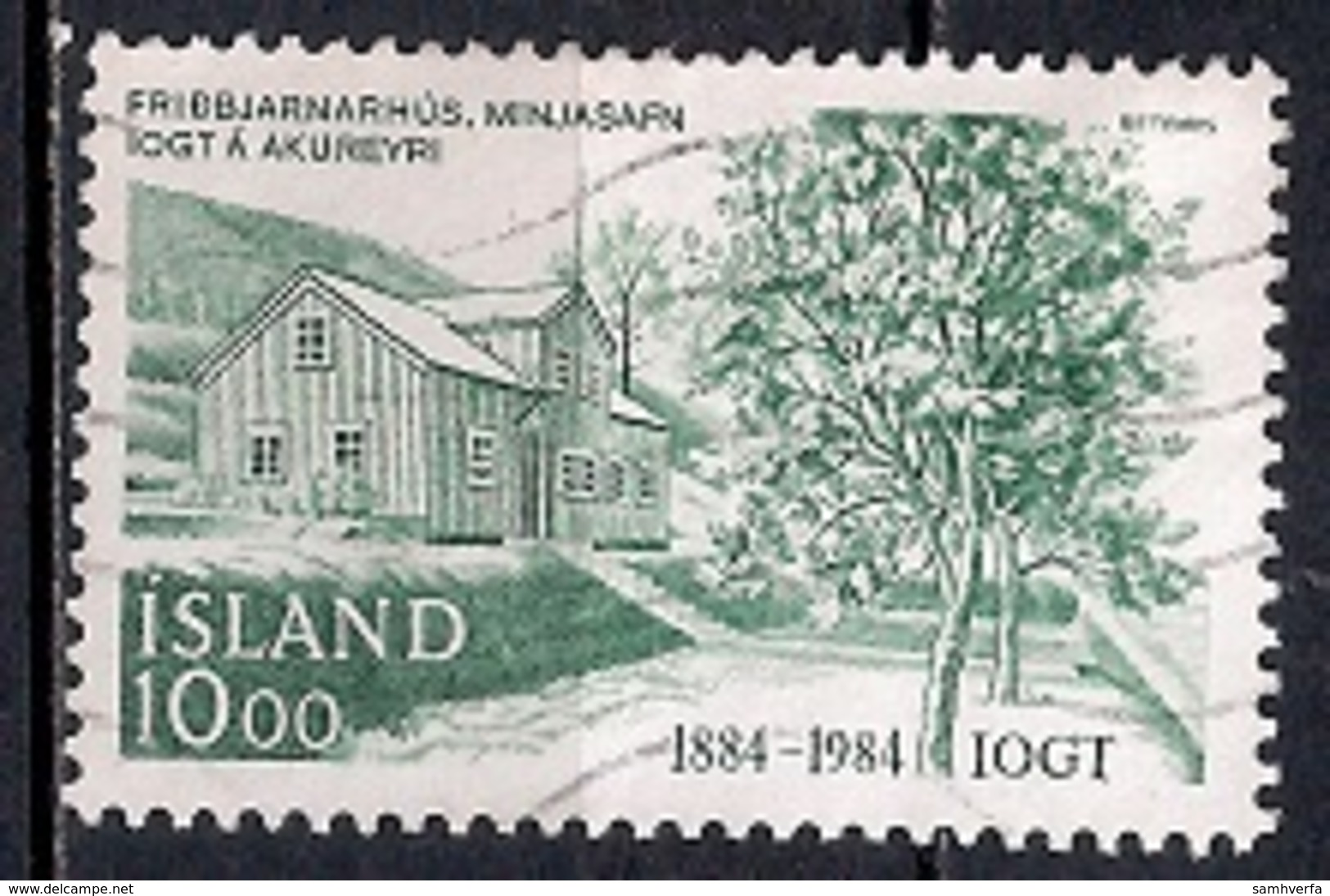 Iceland 1984 - The 100th Anniversary Of The Foundation Of The Temperance Society Good Templar Order - 1944-... Republik