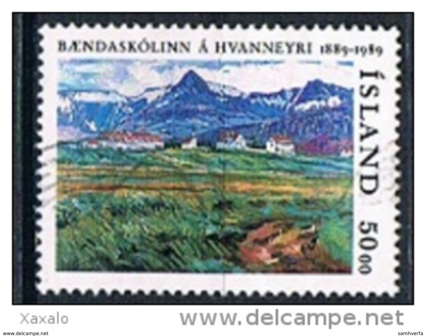 Iceland 1989 -The 100th Anniversary Of The Agricultural College Of Hvanneyri - 1944-... Republik
