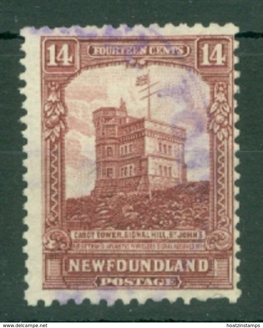 Newfoundland: 1928/29   Publicity Issue [D.L.R.]  SG174a     14c  [Perf: 14-13½]  Used - Newfoundland