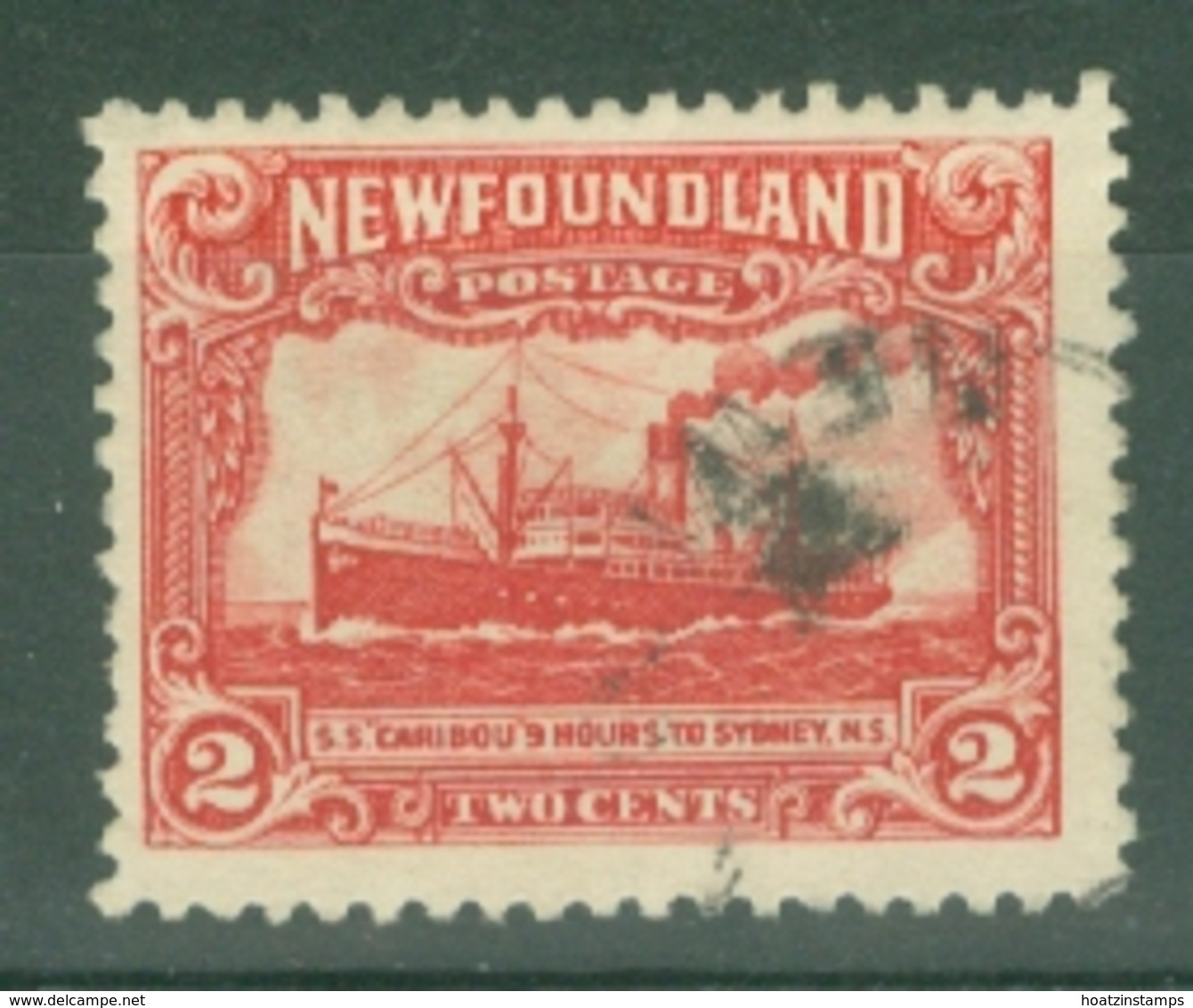 Newfoundland: 1929/31   Publicity Issue [Perkins, Bacon]  SG180b     2c  [Perf: 14-13½]    Used - 1908-1947