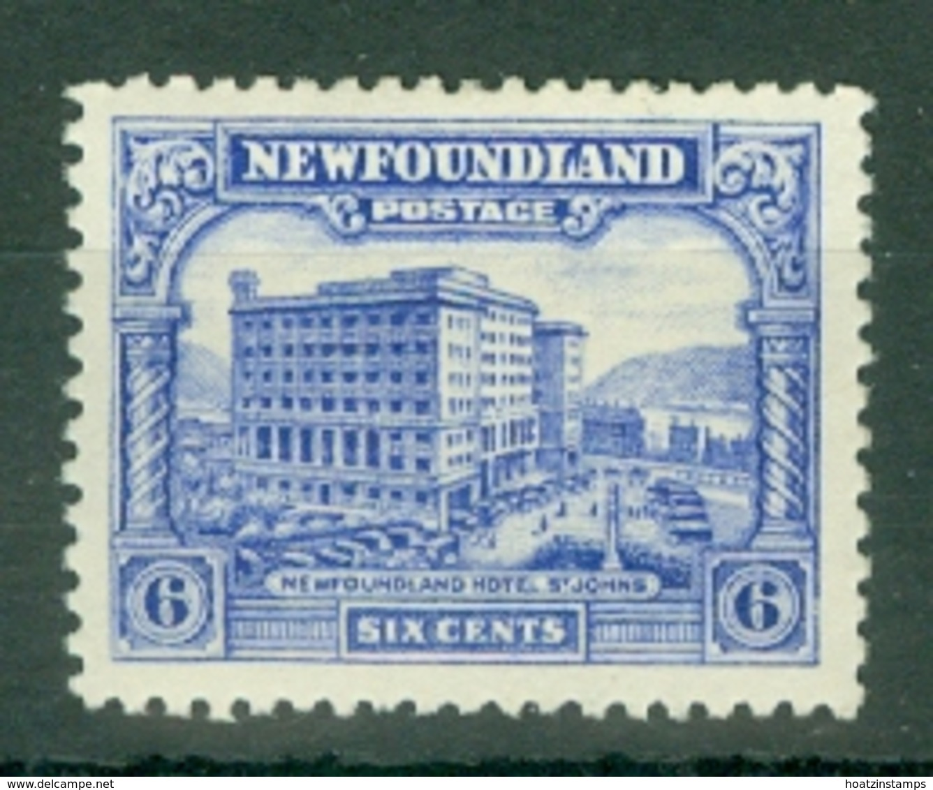Newfoundland: 1929/31   Publicity Issue [Perkins, Bacon]  SG184     6c  [Perf: 13½]    MH - 1908-1947
