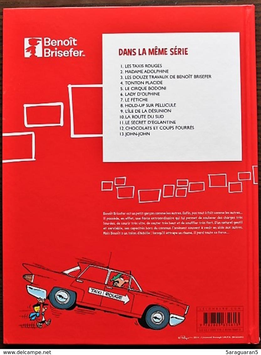 BD BENOIT BRISEFER - 1 - Les Taxis Rouges - TBE - Rééd. 2014 - Benoît Brisefer