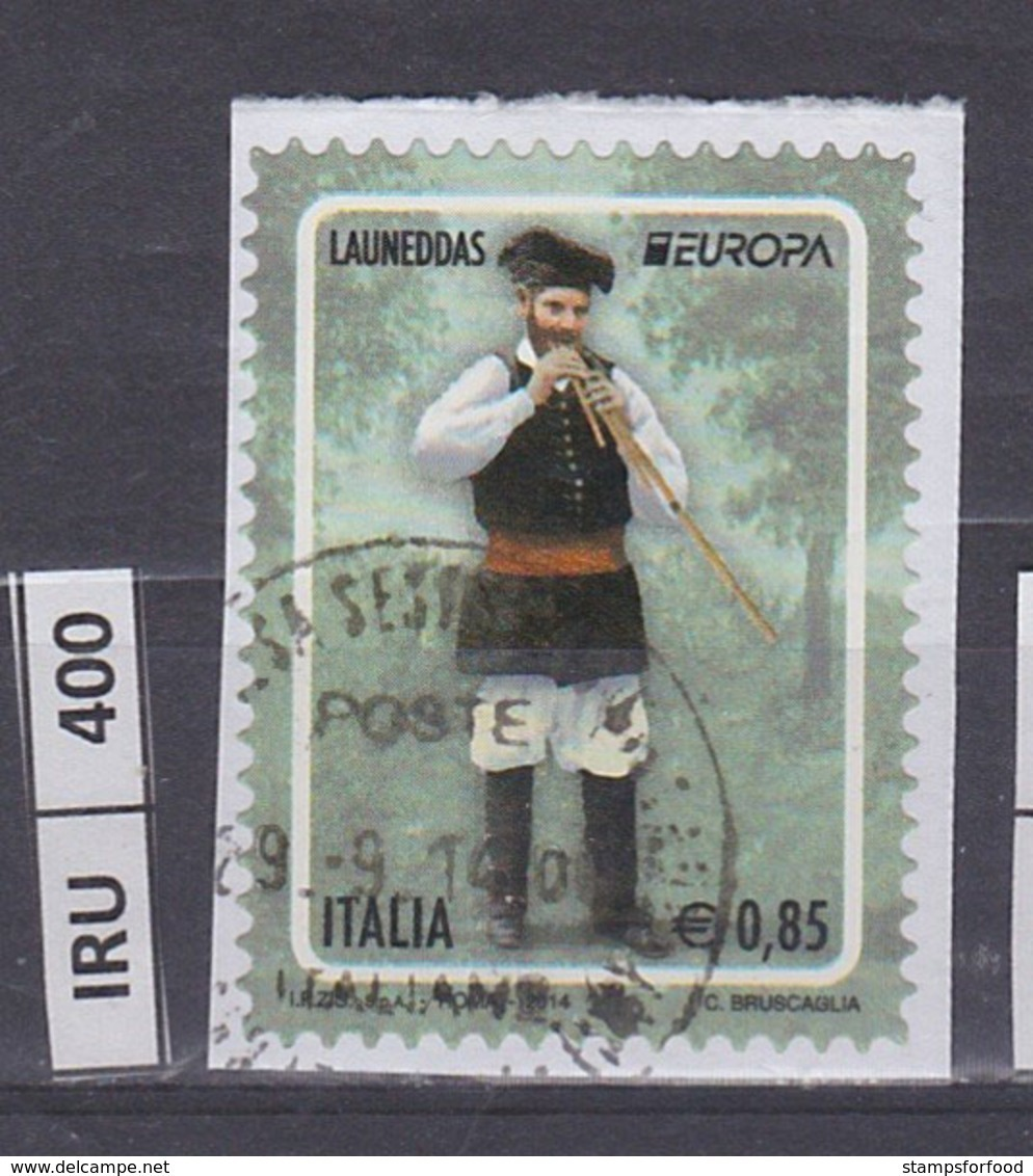 ITALIA REPUBBLICA  2014Europa 0,85  Usato - 2011-...: Usati