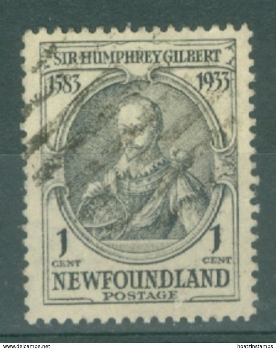 Newfoundland: 1933   350th Anniv Of Humphrey Gilbert's Annexation  SG236   1c    Used - Newfoundland