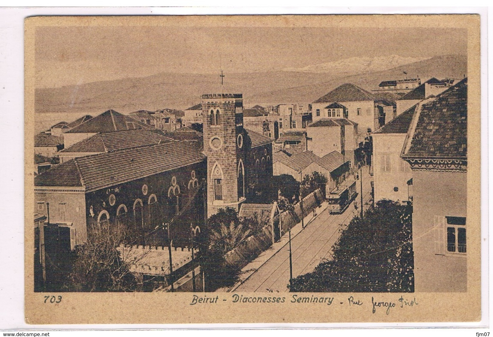SYRIE - BEYROUTH - BEIRUT -    DIACONESSES SEMINARY- Ecrite Le 28 Juillet 1921- - Cartes Postales
