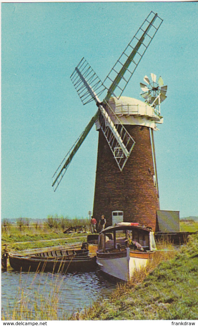 Postcard - Horsey Mill, Norfolk Broads - Card No. KNB 291 - VG - Cartes Postales