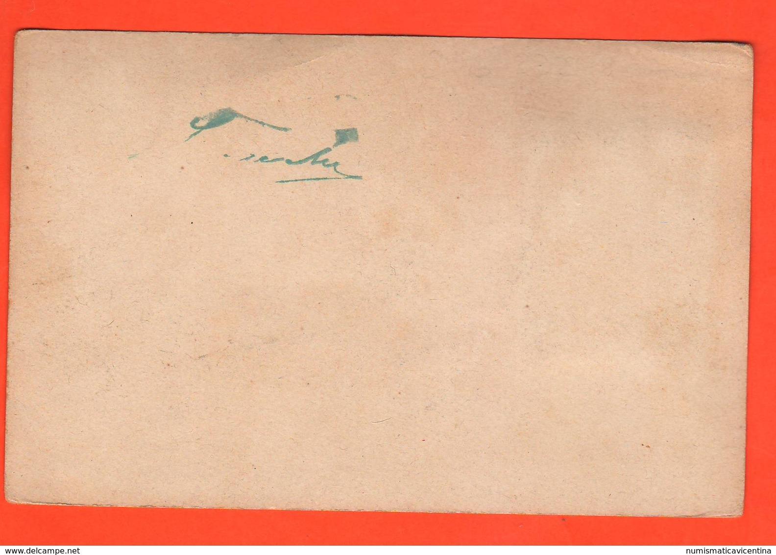 III° Artiglieria Da Costa Cpa Con Erinnofilo Primo '900 - Reggimenti