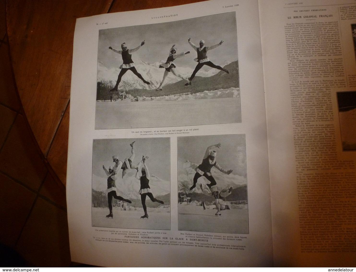 1928 L'ILLUSTRATION : Les Soldats Musulmans Morts Pour La France;Fantaisie à Saint-Moritz;Basilique De Kalbloze;etc - Journaux - Quotidiens
