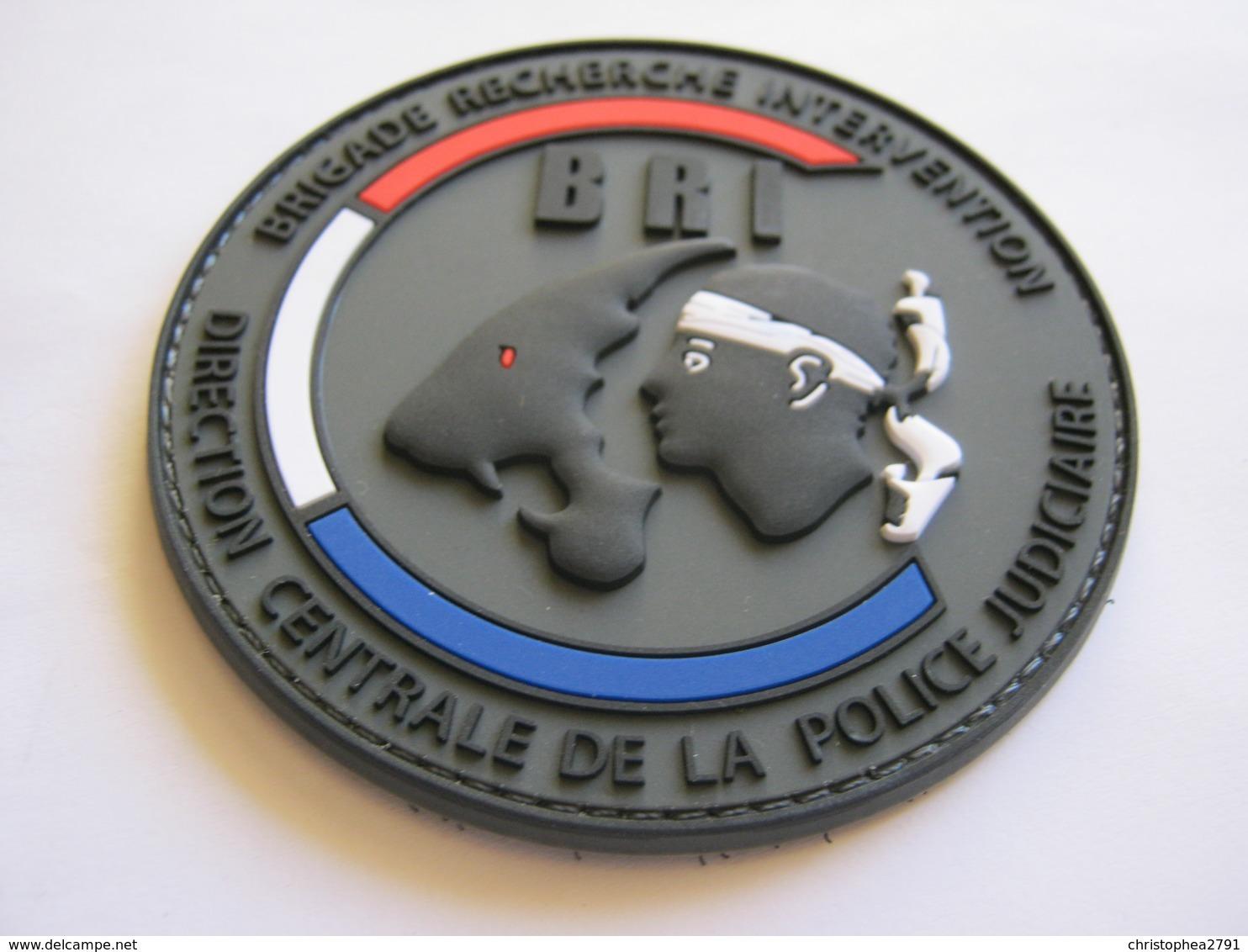 ECUSSON PATCH PVC POLICE NATIONALE LA BRI DE DE CORSE (VELCROS) ETAT EXCELLENT - Police & Gendarmerie