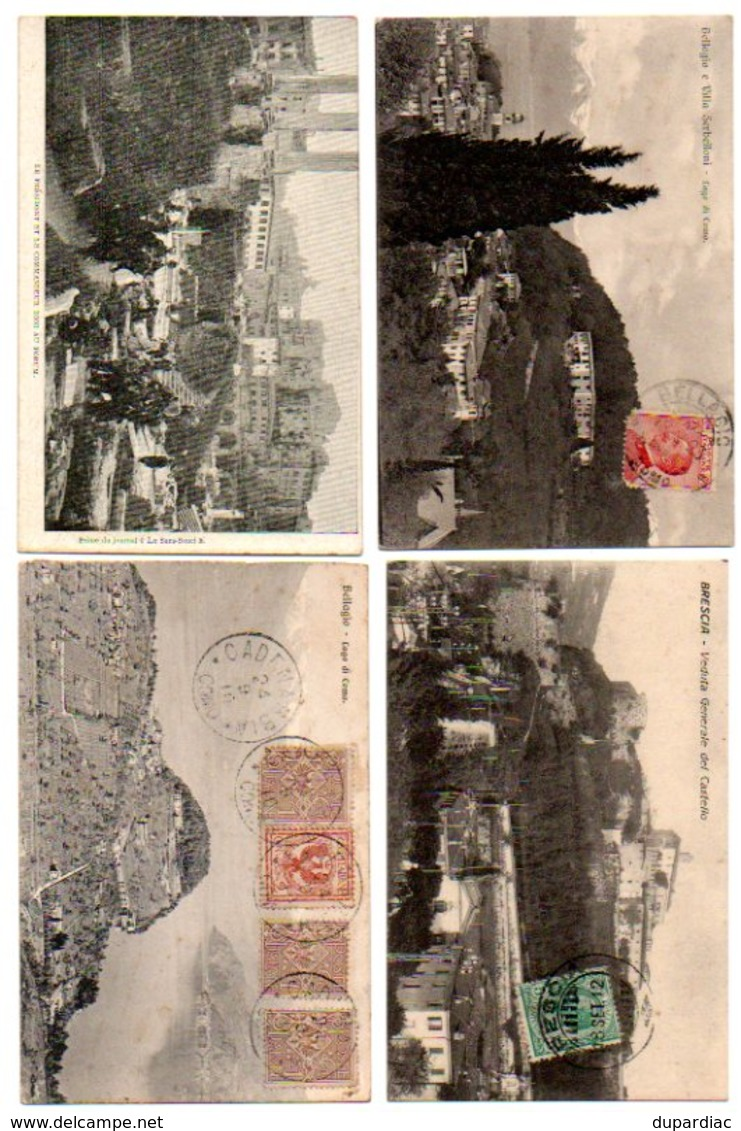 Italie / LOT De Cartes Postales D'ITALIE Et Carnets : Plus De 1250 Vues Différentes, Très Bon état. - Cartes Postales