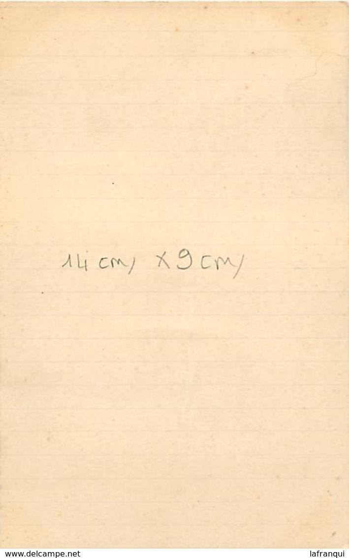 Themes Div-ref AA03- Photo Sur Support Cartonné Format Carte Postale 14cms X 9cms -melun -seine Et Marne -aviron -1933- - Aviron