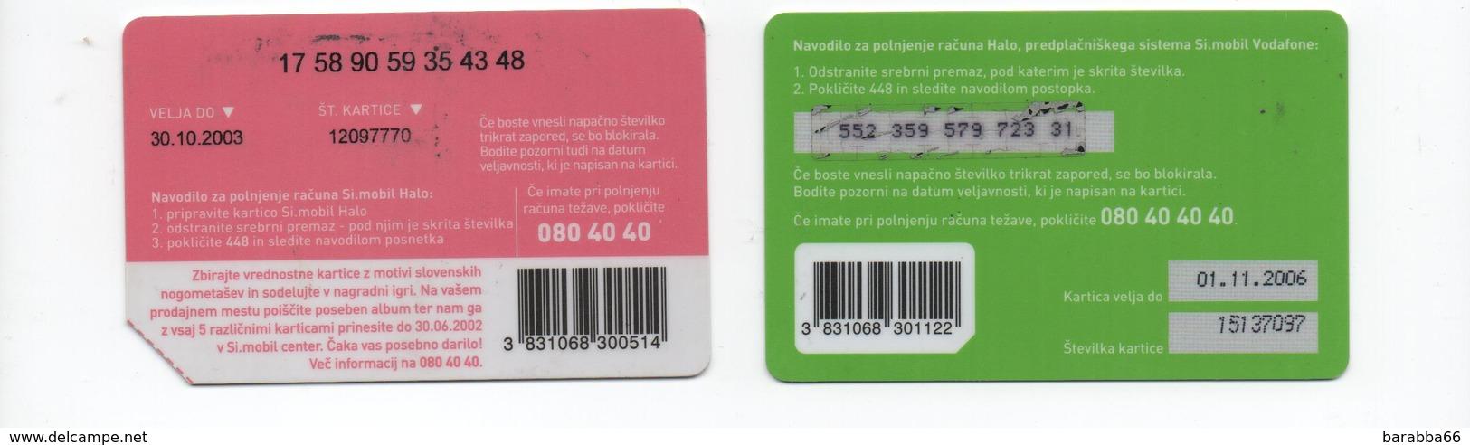 Simobil Prepaid 4 Cards - Slowenien