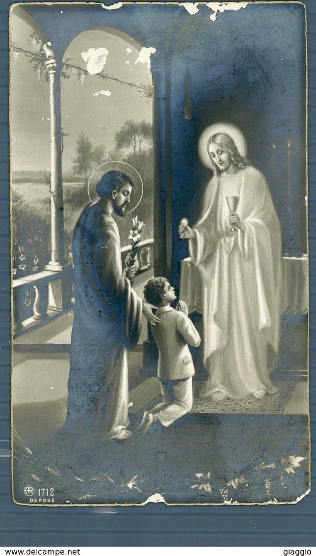 °°° Santino - Prima Comunione 6 Maggio 1934 (roma) °°° - Autres