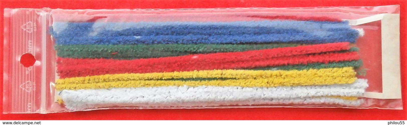 COLLECTION  Paquet De 25 Chenilles Coniques RIZLA + Extras - Pipe Cleaner