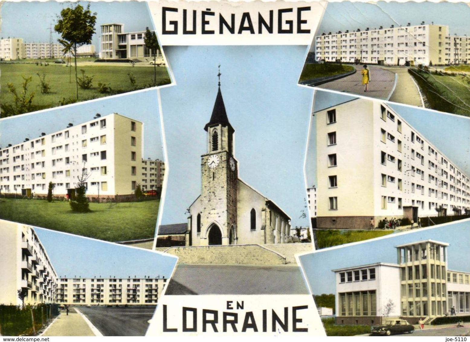 1 Cpsm Souvenir De Guenange - Frankrijk