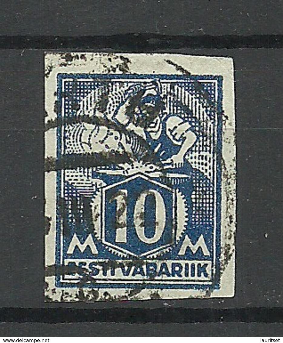 Estonia Estonie 1922 Michel 39 B O - Estonie