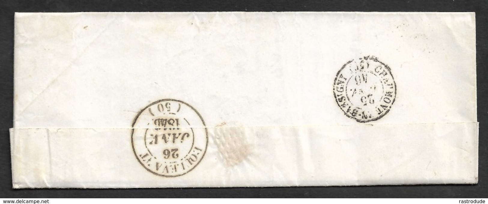 1846 - LAC - C.à.d BRIENNE Type 14 A DOULEVANT LE CHATEAU - TB - Marcophilie (Lettres)