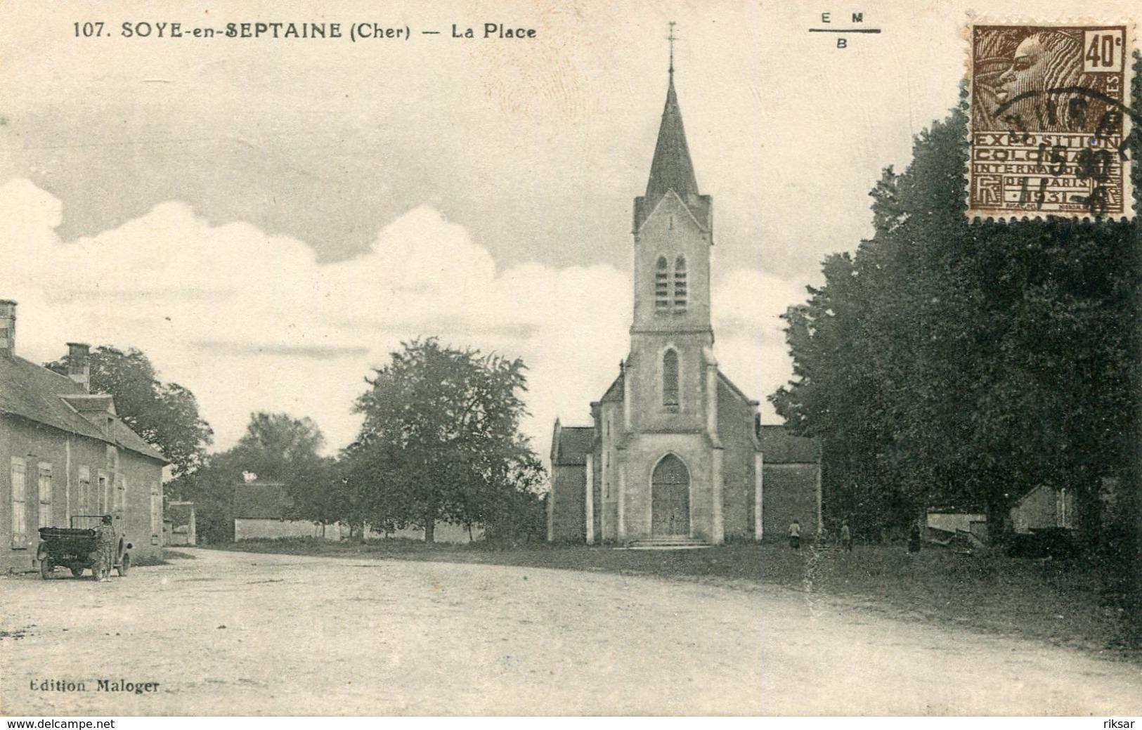 SOYE EN SEPTAINE(ARBRE) - Autres Communes