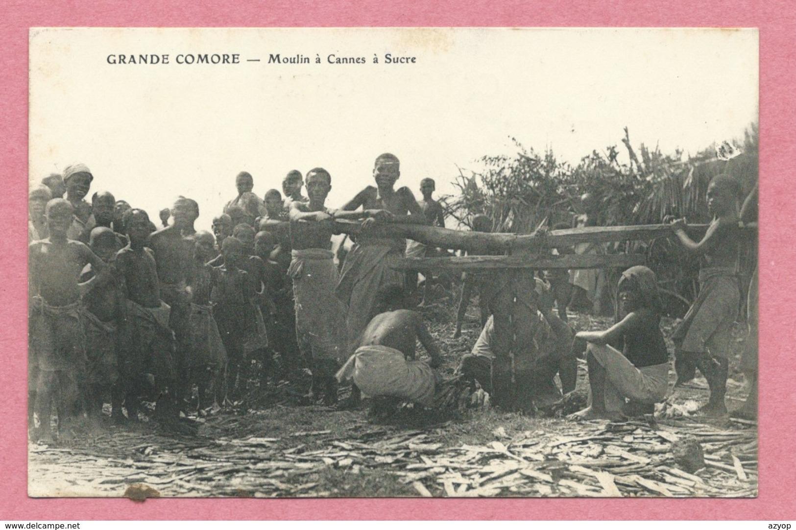 Grande COMORE - Moulin à Cannes à Sucre - Comores