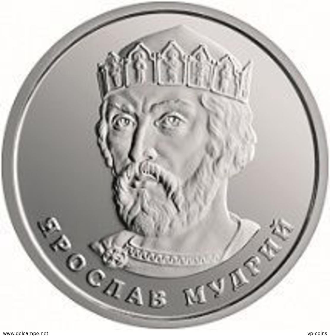 Ukraine. Coin. 2 Hryvnia. 2018. UNC. Prince Yaroslav The Wise - Ukraine