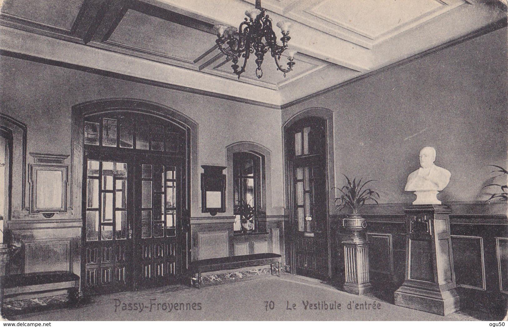 Passy Froyennes (Belgique) - Le Vestibule D'entrée - Belgique