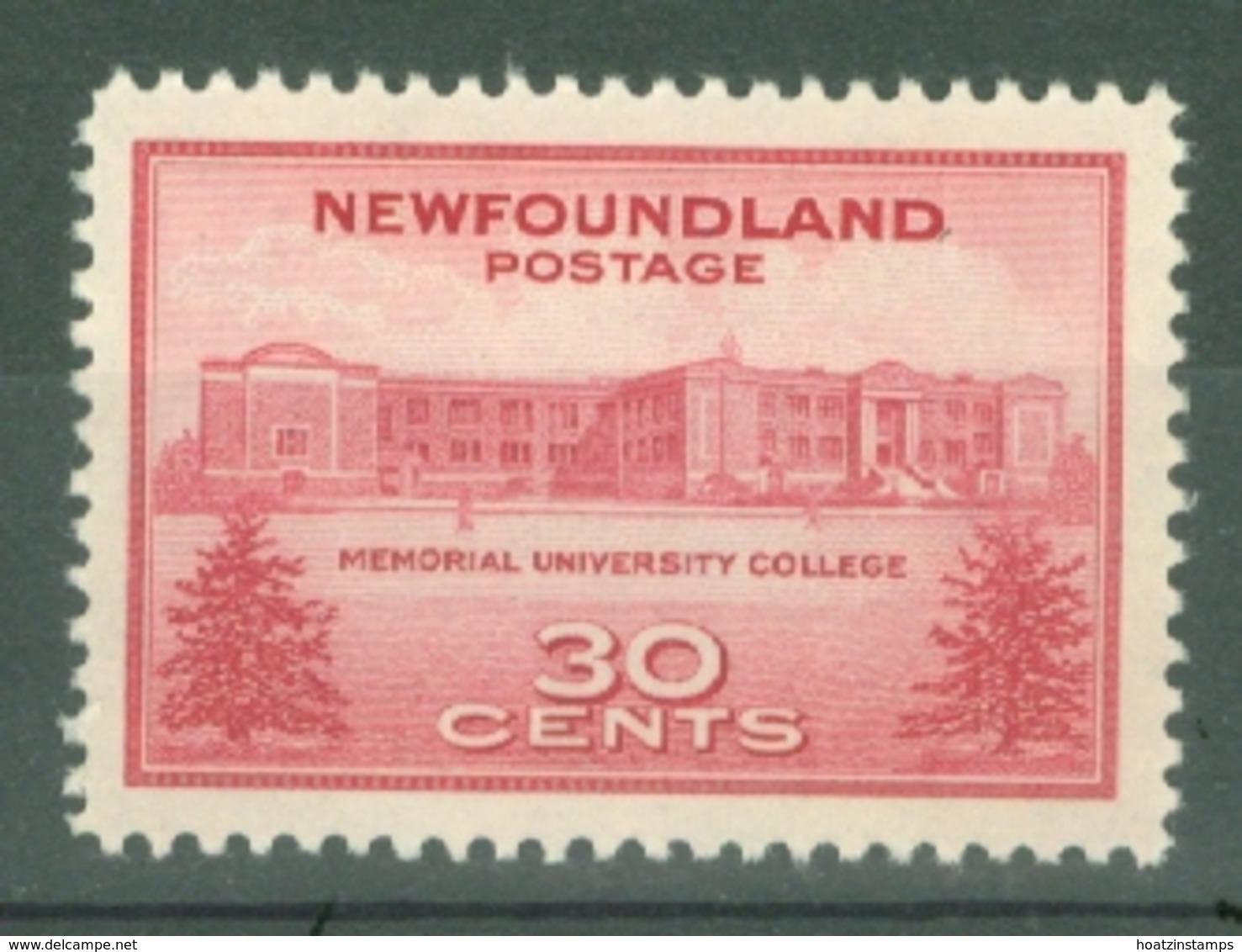 Newfoundland: 1943   Memorial University College    MH - 1908-1947