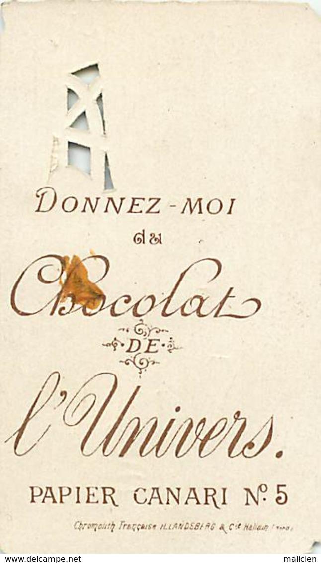 - Chromos -ref-ch922- Chocolat De L Univers - Papier Canari N° 5 - Le Postillon De Longjumeau N°7 - Chromo Decoupis - - Chocolat