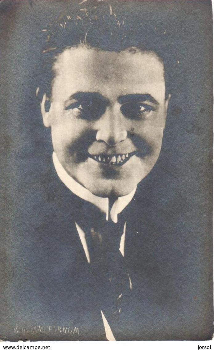 POSTAL   FOTOGRAFIA   DEL ACTOR  WILLIAM FARNUM NACIO EL 4 DE JULIO DE 1876 - Fotos
