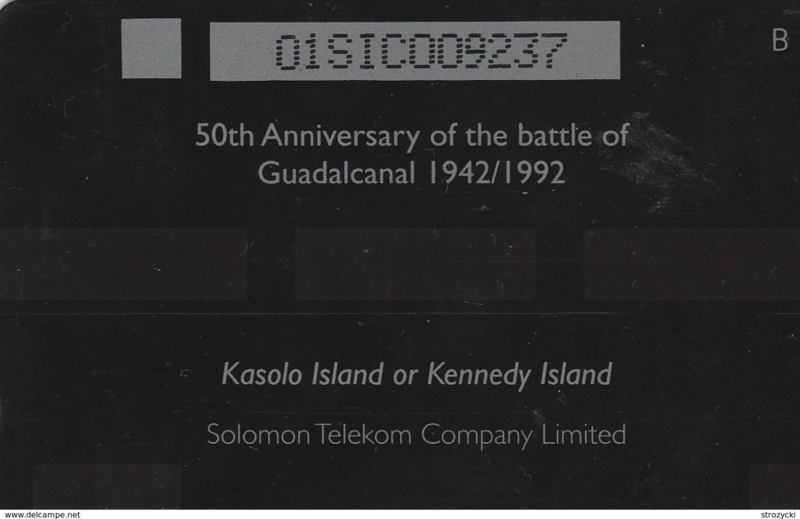Solomon Is. - Kasolo Island Or Kennedy Island - 01SIC - Isole Salomon