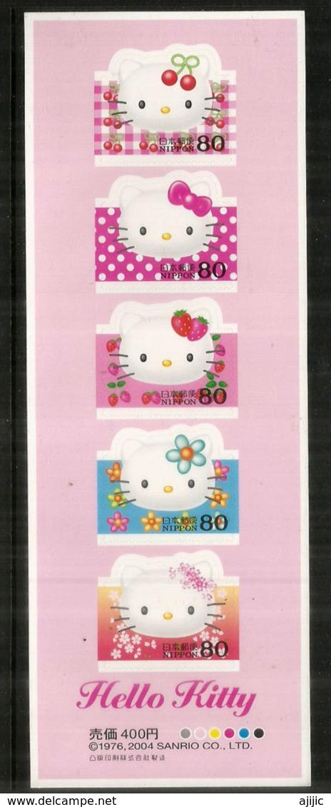 Hello Kitty  !  Carnet De 5 Timbres Neufs ** Du Japon - Comics