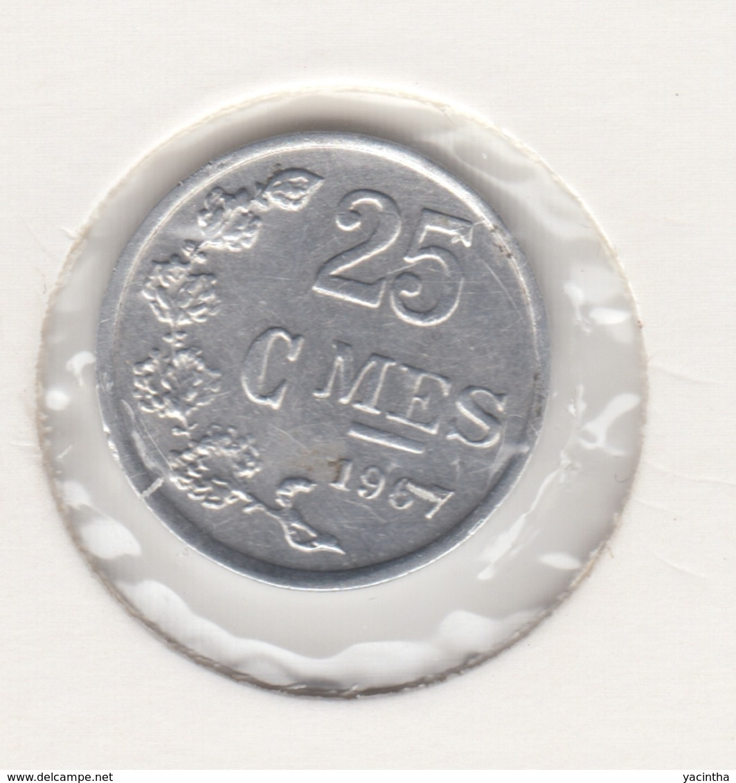 @Y@    Luxemburg  25 Centimes   1967   (4632) - Luxembourg