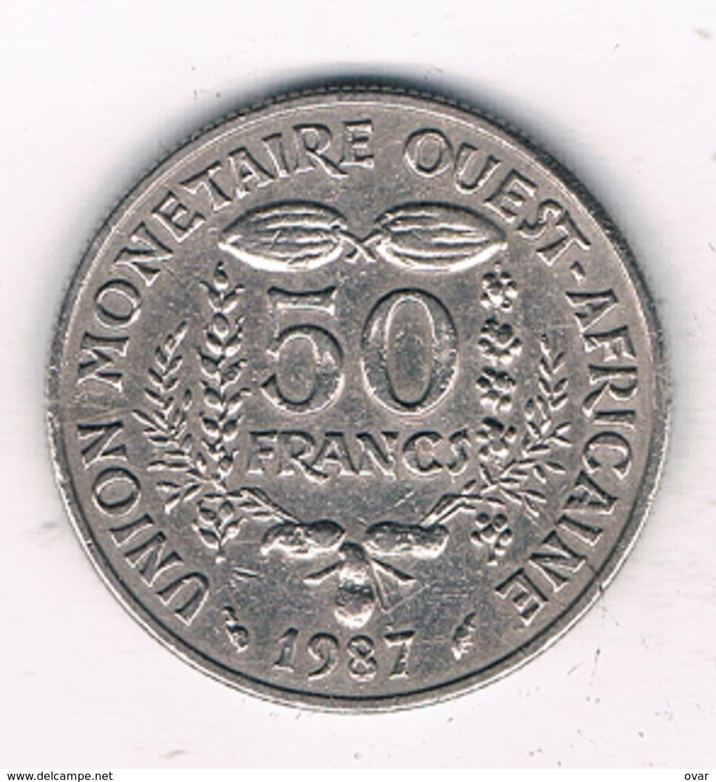 50 FRANCS 1987 AFRICA- L'OUEST /1339/ - Monnaies