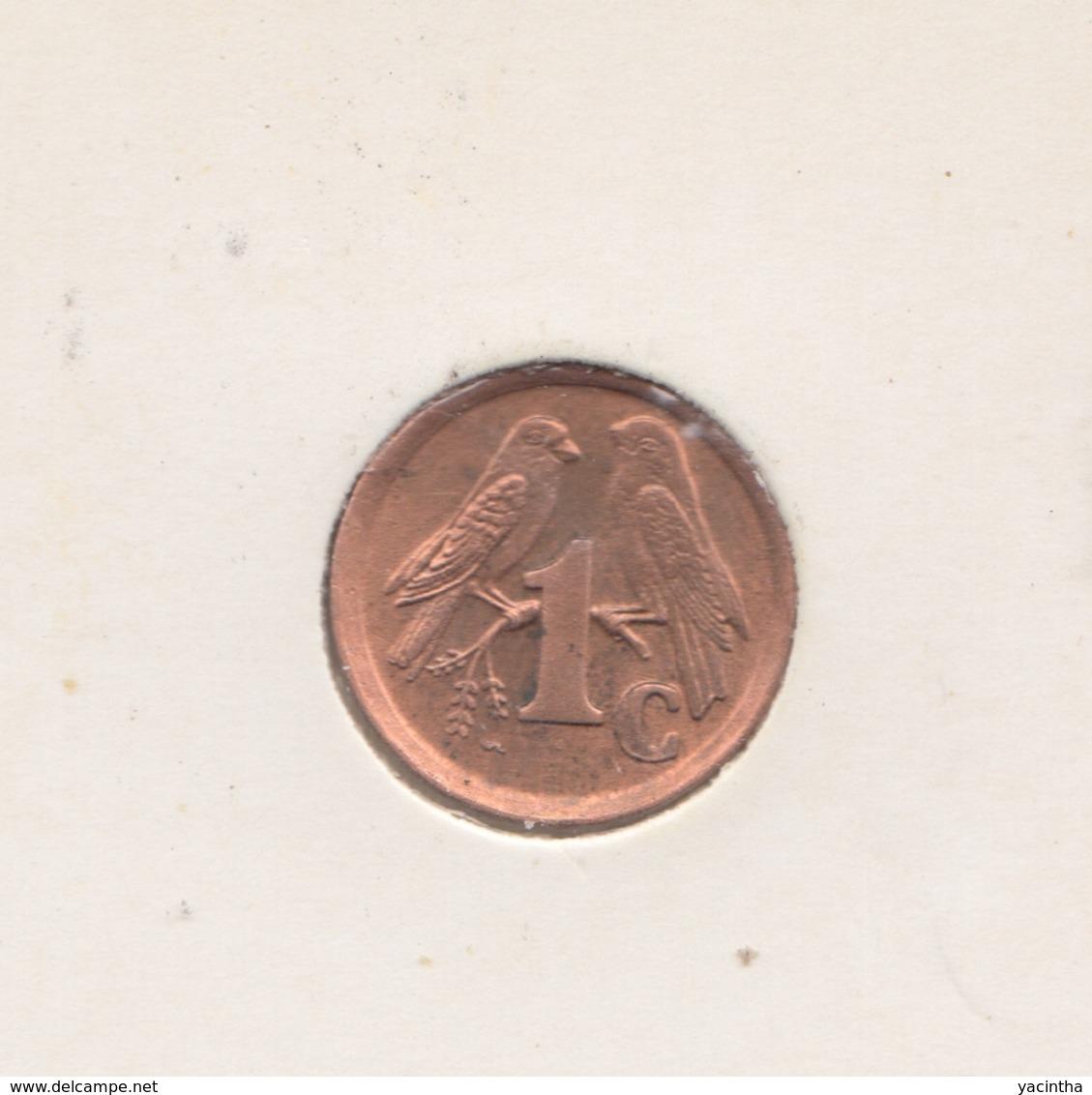 @Y@   Afrika   1 Cent  1991     (3271) - Südafrika