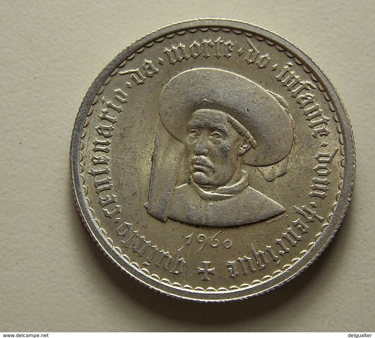 Portugal 5 Escudos 1960 Silver - Portugal